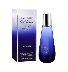 Davidoff Cool Water Night Dive EDT FOR WOMAN