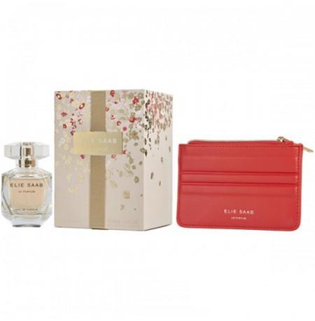 Elie Saab Le Parfum Set (EDP 50ml + Pouch) FOR WOMAN