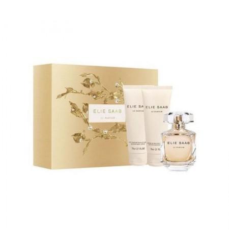 Elie Saab Le Parfum Set (EDP 50ml + BL 75ml + SG 75ml) FOR WOMAN